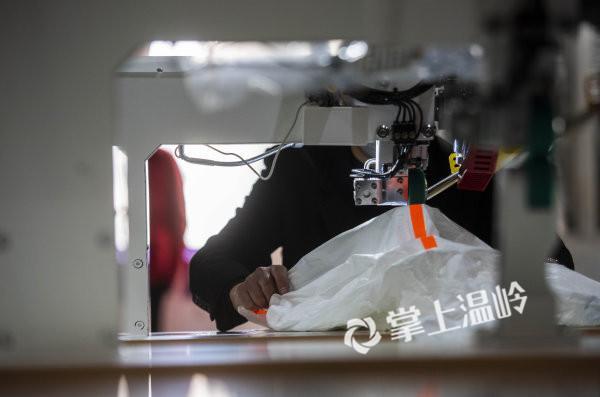 援助隔离服生产厂家,温岭市欧鹰机械有限公司紧急开工!(图7)